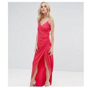 ASOS PETITE Drape Cami Maxi Dress